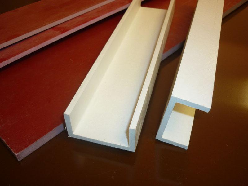 Laminados industriales aislantes el ctricos saga - Barras de fibra de vidrio ...